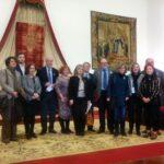 VICENTE DEL BOSQUE EN EL PARANINFO - LECTURA DE LA DECLARACIÓN INSTITUCIONAL